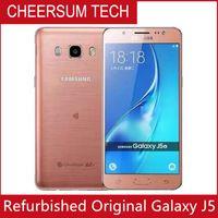 "Samsung Galaxy Original J5 J500F J510F Desbloqueado Cell Phone Quad Core Snapdragon 1,5 GB RAM de 8GB ROM 5.0 ""telefone móvel WCDMA Recuperado"