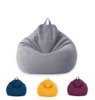 جديد الكلاسيكية حقيبة الفول أريكة كراسي غطاء كسول المتسكع حقيبة الفول التخزين كرسي يغطي غرفة المعيشة بلون