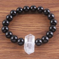 Kraft- beads Trendy 10 mm Black Agates Round Beads Connect Ro...