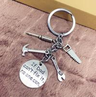 الأزياء والمجوهرات التبتية الفضة أبي المفاتيح مفك البراغي المطرقة وجع الأخضر - سحر قلادة مفتاح سلسلة حلقة diy صالح المفاتيح 138