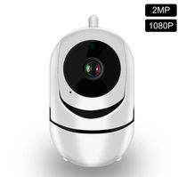 Camera 2020-NEW 1080P telecamera IP Camera Auto Tracking IP WiFi Baby Monitor Home Security visione notturna a infrarossi senza fili di sorveglianza a circuito chiuso