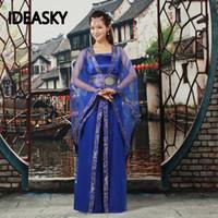 classique noël femmes ventilateur traditionnels costumes de danse chinoise nationales pour les filles en antique enfants de femme hanfu robes
