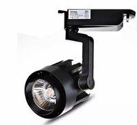 LED COB 트랙 빛 20W 25w 30w 40w 실내 조명 가로등 조명 스포트 라이트 의류 구두 숍 110V-240V 따뜻한 자연 차가운 흰색 LLFA