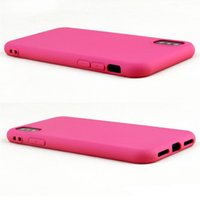 Nuovo per iphone XS MAX XR X 6 S 7 8 plus TPU silicone morbido cellulare cassa sottile ultra sottile a buon mercato copertura della cassa del telefono cellulare colori della caramella 100 pz