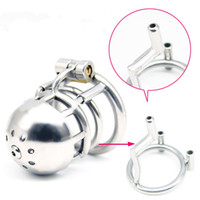 Male PA Chastity Devices Stainless Steel Cock Cage For Men M...