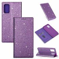 Glitter Wallet bling magnétique ID peau de la carte en cuir pour Samsung S7 S8 S9 PLUS NOTE8 NOTE9 PLUS A10 note10 A20 A30 A40 A50 A60 A70 A20E