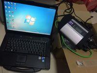 Scanner Automotivo 360GB SSD V12.2020 Soft-Ware + MB Estrela C4 SD Connect C4 + CF52 Toughbook usado Laptop I5 4G conjunto inteiro para auto diagnóstico ferramenta