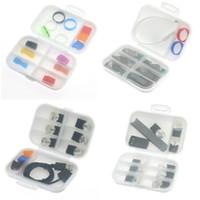 MT phix NRX Kartuşları Damla İpuçları USB Şarj Vape Bant Bobinler Tel DHL için Taşınabilir Plastik Pil Kutusu Kutusu Emniyet Tutucu Saklama Kabı
