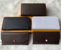 Дизайнер-ZIPPY КОШЕЛЬКА самых стильных знаменитых людей конструкции кожаный кошелек держатель карты длинный бизнес M60017