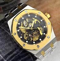 d78aca0032a7 Directo de fábrica para hombre Reloj Moda Estilo clásico 42 mm Roble real  ahueca hacia fuera
