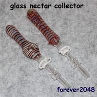 Kit Collector Colorful Nectar per i tubi dell'acqua fumatori con quarzo Nail Dab paglia Mini Nector Collezionisti cera Dab Rigs
