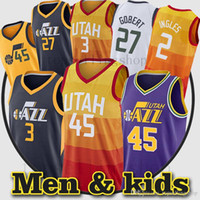 New Arrival. Mitchell 3 Ricky Rubio Utah jerseys Men city 45 Donovan  Mitchell jersey 2 Joe Ingles 27 Rudy Gobert ... 4f0bbdf52