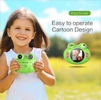 أطفال كاميرا رقمية كاميرا الضفدع لعبة ممتعة عيد ميلاد الطفل هدية للحيوانات الاليفة