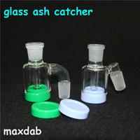 Shishs Glass Ash Catcher Bubbler Perc Ashcatcher Bong Wachsbehälter Dabber Werkzeug Silikon Handleitungen