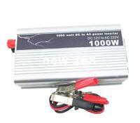 Freeshipping 1000 W Car Power Inverter Conversor USB Auto DC 12 V Para AC 220 V-240 V Adaptador Watt Carregador de Tensão