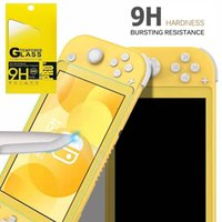 perakende paket içinde 9H temperli cam için Nintendo Anahtarı Lite HD çizilmeye karşı Cam Ekran Koruyucu