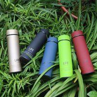 저렴한 생활 12 17온스 온도 LED 디스플레이 머그잔 스테인레스 스틸 지능형 컵 절연 진공 물병 야외 휴대용 커피 컵