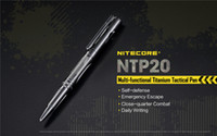 NITECORE NTP20 Titanium Tactical Pen CNC Machined with Germa...
