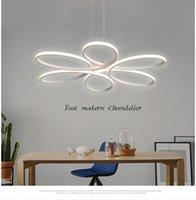 Moderno simple estilo nórdico led comedor araña sala de estar dormitorio lámpara de techo atmosférica creativa personalidad estudio colgante luz