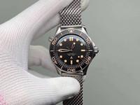 2020 Time to Die Luxury men watch Limited Edition Skyfall Mens Master James Bond's 007 Diver 300M Watch 50th Designer Steel band Wristwatch