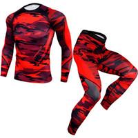 Jaycosin Hombres Trajes Hombre Elástico Fitness Sports Traje Secado rápido Perspiración Fitness Entrenamiento Masculino Sportswear Jogging Correr