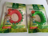 Controlli 10pcs Mix Colors Anti- Zanzara Repellente Braccialetto Bug Pest Repel Band Polso Insetto Mozzie Tenere Bug