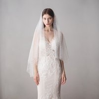Twigs Bridal Veils With Cut Edge Fingertip Length Stars Two ...