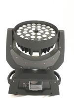 36 pcs 10 W RGBW cor de mistura 4in1 Zoom Led luz em movimento da cabeça do Clube DJ Partido Luzes Do Palco