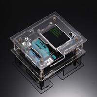 Freeshipping GM328A 트랜지스터 테스터 다이오드 커패시턴스 ESR 전압 주파수 측정기 PWM 구형파 신호 발생기 SMT 납땜 + DIY 케이스