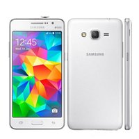 الأصلي تم تجديده 5.0 بوصة Samsung Galaxy Grand Prime G531 G531H المزدوج SIM 3G WiFi GPS مع اكسسوارات سماعة مقفلة Mobielephone