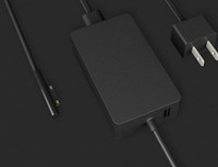 100 шт. Оптовая 65 Вт 15 В 4А Адаптер переменного тока Зарядное устройство для поверхности RT Book1 Book2 Ноутбук 1706 Дополнительные вилки EU / UK / UL