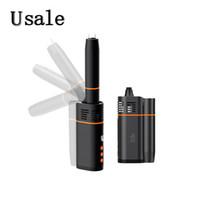Kingtons BLK Rotary seco Herb vaporizador 1800mAh Bateria com o Smart Air Sistema de resfriamento Folding Extensão Bocal Vape Pen 100% Original
