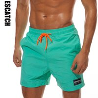 New Quick Dry Escatch Mens board Pantaloncini Summer Short Athletic Running Pantaloncini da ginnastica Surf Costumi da bagno Beach Short for Men 3XL