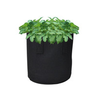 نسيج النباتات التي تنمو حقيبة للالخضروات زراعة الأشجار حقيبة الحضانة الخضراء المعمرة الشتلات حقيبة التغذية تنمو زهرة وعاء سميكة
