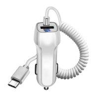 삼성 마이크로 USB 타입 C 케이블 빠른 차 전화 충전기 USB 케이블 휴대 전화 충전기와 유니버설 차량용 충전기