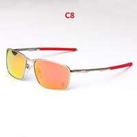 HOT EU-AM 스포티 한 스타일의 편광 선글라스 UV400 품질의 가벼운 금속 O 4106 사이클링 여행용 고글 풀 세트 케이스 최저 가격