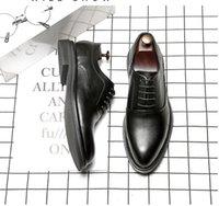 2020 FELIX CHU SHOE Casual Elegante Brown dos homens sapatos formal verdadeira vaca couro do escritório BUSINESS bracelete MENS LOAFERS VESTIDO