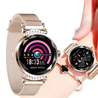 H2 Smart Watch Lady Fashion Smartwatch Bluetooth Cardiofrequenzimetro Multiplo Sport Mode Smart Watch Bracciale donna Femmina