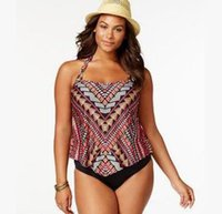 041e0c6b65 XXXXL Plus Size Bikinis Swimwear One Piece Swimsuit for Fat Women Sexy  Swimming Monokini Bodysuits Woman Large Print Swim Wear Bathing Suits
