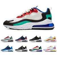 react Vente chaude hommes réagissent chaussures de course top qualité triple noir OPTICAL BAUHAUS mens baskets de sport baskets jogging marche taille 40-45