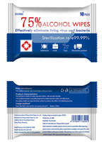 75% Alcohol Disinfectant Wipes 4. 7*7 inch Sterilization Wet ...