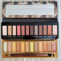 Yeni Makyaj Bal Göz Farı Paletleri 12 Renk Reloaded Paletler Mat Pırıltılı Su Geçirmez Göz Farı Isı Paleti Artı Fırçalar DHL