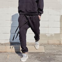 20SS FEAR OF GOD 6TH Loopback Cotton-Jersey Track Pants Skate Homens Mulheres Moda Casual Calças Esporte respirável Sweatpants