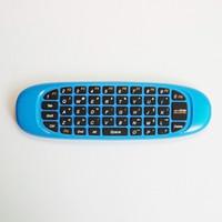 2.4G اللاسلكية يطير ماوس الألعاب الهواء C120 4 ألوان التعامل مع لوحة المفاتيح للتحكم عن بعد لقمة مجموعة صناديق الكمبيوتر المحمول الروبوت TV X96 TX6