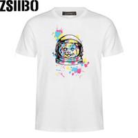 Zsiibo ماركة إلكتروني نمط الطباعة الهيب هوب قصيرة الأكمام t-shirt الفردية أزياء الرجال الموسعة تي شيرت الهيب هوب تي شيرت النساء MC97