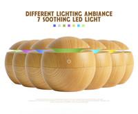luce Aroma USB olio essenziale diffusore ad ultrasuoni fresco umidificatore nebbia purificatore 7 cambiamento di colore del LED di notte per Office Home