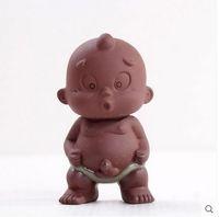 حيوانات الشاي الأليفة زينة الفن الشعبي الصيني ... ... تماثيل الطين الأرجواني ... ...