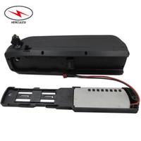 Paquetes de baterías de iones de litio de alta calidad NCM Shark de litio 48V 8.7Ah para 700W en bicicleta eléctrica con cargador de 2A y 15Amp BMS