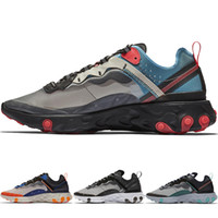 New Summer Reac Element 87 Undercover Men Colorful Casual Shoes For Women Designer Sneakers Mens Trainer Calzado deportivo Venta caliente BQ2718 AQ1090
