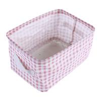 Lattice Макияж Box Организаторы High Capacity Jewelry Cosmetic ящик для хранения ткани Помада Держатель Sundries Контейнер